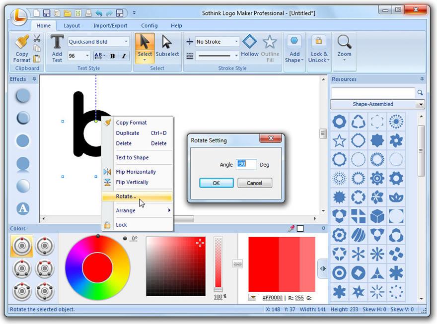Design Letter Logo Guide | Sothink Logo Maker Professional