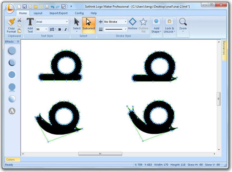design letter logo guide sothink logo maker professional