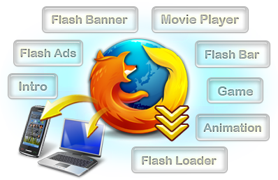 Flash Downloader For Firefox - Free Flash Save, Flash Download