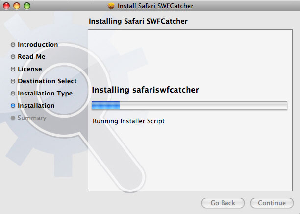 Install SWF Catcher for Safari