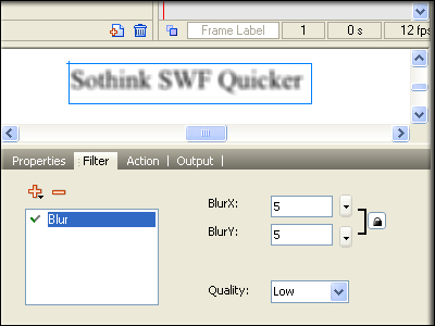 Sothink SWF to Video Converter Screenshot