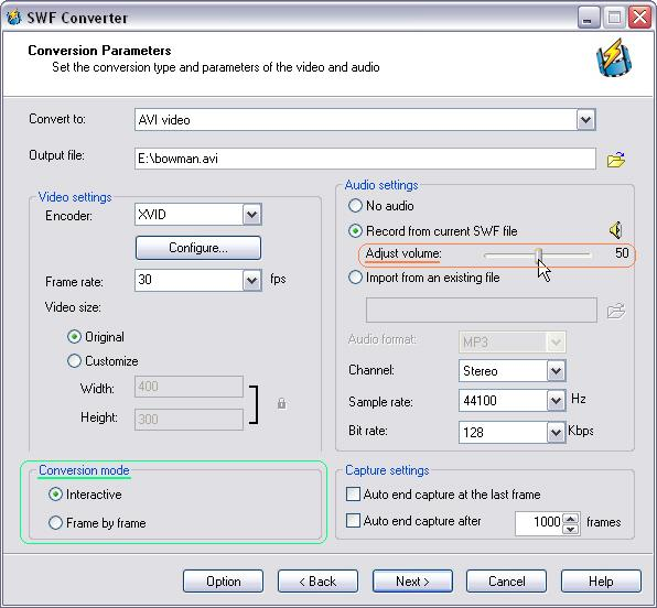 Flash to AVI Converter 3.8.8.9