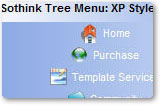 XP Blue Tree Menu