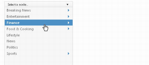 how to add image in drop down menu in html