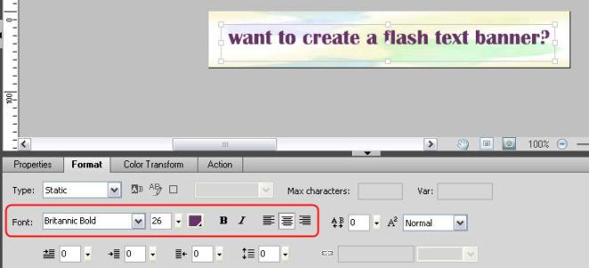 how to change text colour in movie maker