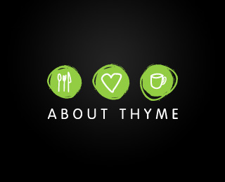 Vector Logo Design - About Thyme