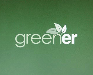 Vector Logo Design - Greener