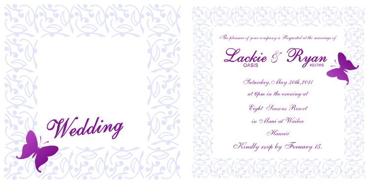 40 exquisite wedding invitation templates for your most important day