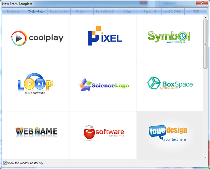 Template WindowSothink Logo Maker Professional - Free ebay template maker