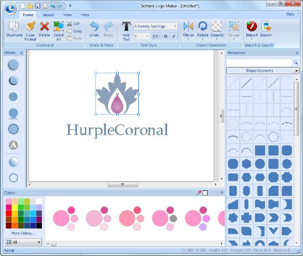 برنامج تصميم الشعارات أصنع اللوجو والتواقيع Canvas