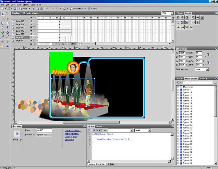 Flash SWF Editor, Free Download Flash Animation Creator, Flash Maker
